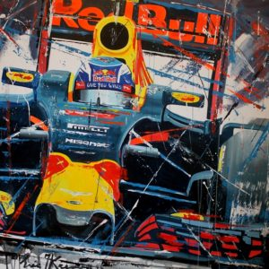 Eric Jan Kremer - Max Verstappen Red Bull Racing