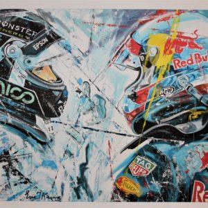 Eric Jan Kremer - Max Verstappen en Nico Rosberg