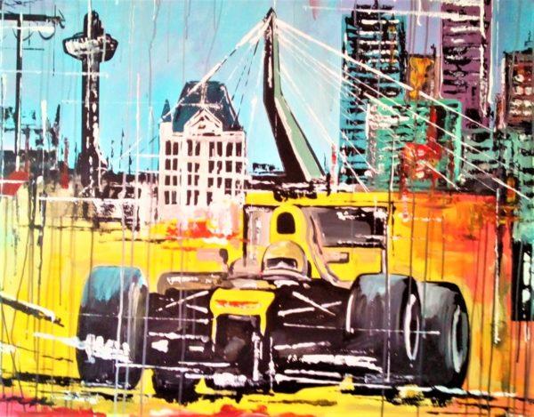 Auto schilderijen